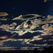 The Full Buck Moon Art Print