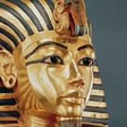 The Funerary Mask Of Tutankhamun Art Print