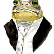 The Gentleman Art Print