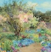 The Garden At Kilmurry Art Print