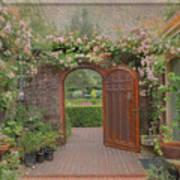 The Garden Door Art Print