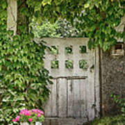 The Garden Door - V Art Print