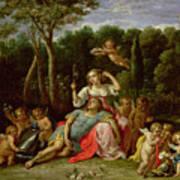 The Garden Of Armida Art Print