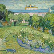 The Garden Of Daubigny Art Print