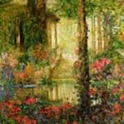The Garden Of Enchantment Art Print by Thomas Edwin Mostyn