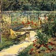 The Garden Of Manet Art Print