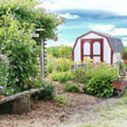 The Garden Shed Art Print
