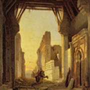 The Gates Of El Geber In Morocco Art Print