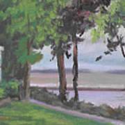The Gazebo At Lakeside Ohio Art Print