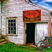 The General Store Painted Art Print