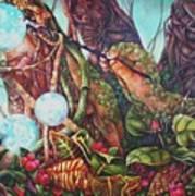 The Genesis Totem Art Print
