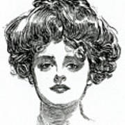 The Gibson Girl Art Print