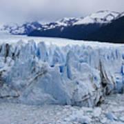 The Glacier Advances Art Print