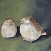 The Glass Birds Art Print