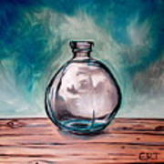The Glass Bottle Art Print