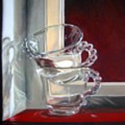 The Glass Cups Art Print