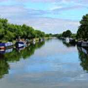 The Gloucester And Sharpness Canal Art Print