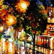 The Glowing Night Art Print