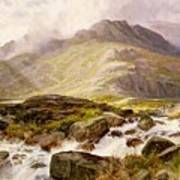 The Glyder Fawr  Art Print