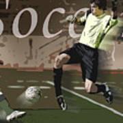 The Goalkeeper Art Print