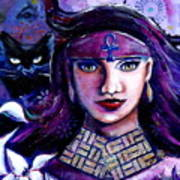 The Goddess Bast Art Print