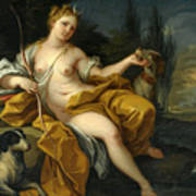 The Goddess Diana Art Print