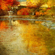 The Golden Dreams Of Autumn Art Print