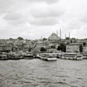 The Golden Horn Art Print