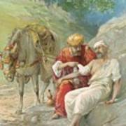 The Good Samaritan Art Print by Ambrose Dudley
