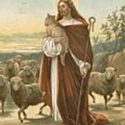 The Good Shepherd Art Print