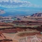 Dead Horse Point, Moab Utah Art Print