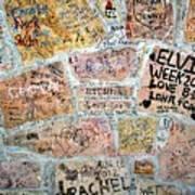 The Graceland Graffiti Wall Art Print