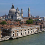 The Grand Canal In Venice  Art Print