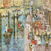 The Grand Canal Venice Art Print
