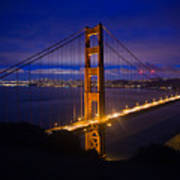 The Grand Golden Gate Art Print