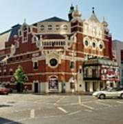 The Grand Opera House On Great Victoria Street, Belfast Art Print