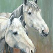 The Grays - Horses Art Print