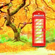 The Great British Autumn Art Print
