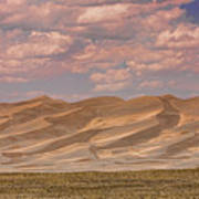 The Great Colorado Sand Dunes  177 Art Print