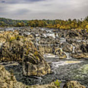 The Great Falls Of The Potomac Art Print
