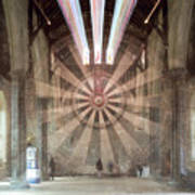 The Great Hall, Winchester Castle, Hampshire Zoom Burst Art Print
