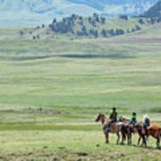 The Great Montana Expanse Art Print