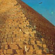 The Great Pyramid. Giza Art Print