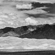 The Great Sand Dunes Panorama 2 Art Print