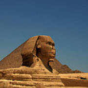 The Great Sphinx Of Giza 2 Art Print