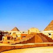 The Great Sphinx Of Giza Art Print