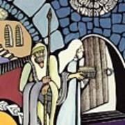The Great Synagogue Of Jerusalem  Art Print