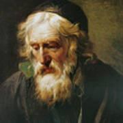 The Greek Priest Art Print