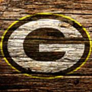 The Green Bay Packers 1b Art Print