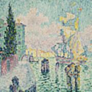 The Green House, Venice Art Print
